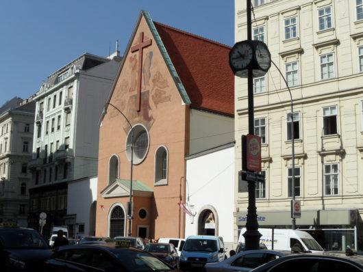 Kapucínský kostel na Neuer Markt