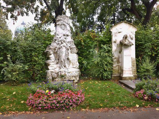 Johann Strauss a Johannes Brahms