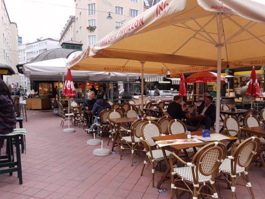 Naschmarkt, největší výběr za nejlepší ceny a spousta volných míst