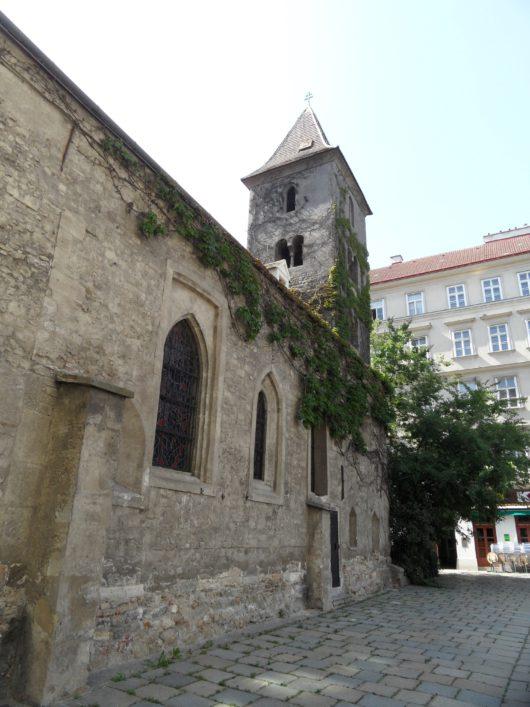 Nejstarší kostel, sv. Ruprecht
