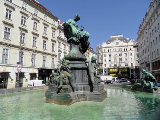 Kašna Donnerbrunnen