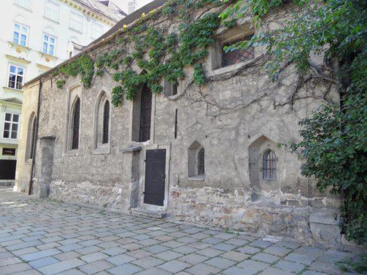 Nejstarší zeď kostela sv. Ruprechta