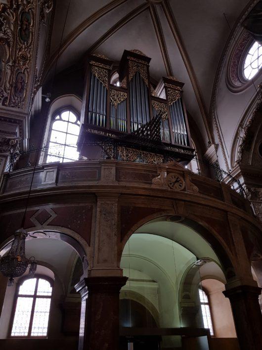 Nejstarší vídeňské varhany