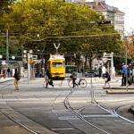 Žlutou tramvají kolem Ringu